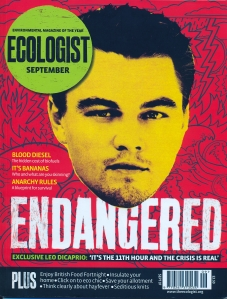 Ecologist magazine front cover